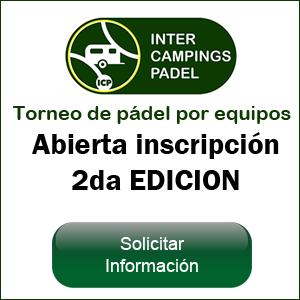 Inscripcion a Intercampings Padel 2019